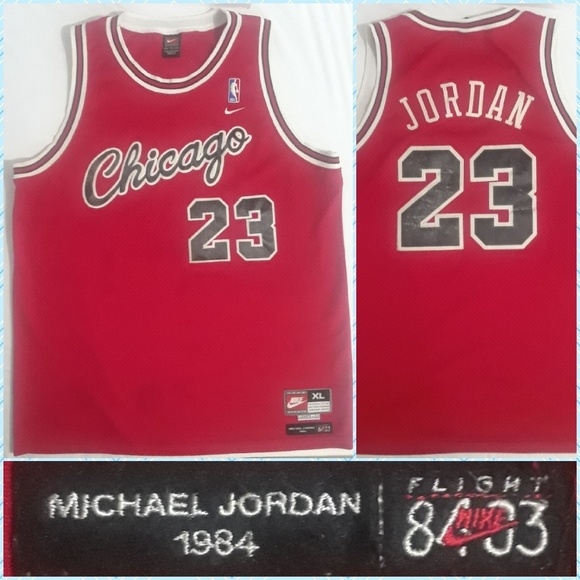save off 27945 4d081 Nike Michael Jordan 1984 Chicago Rookie Jersey